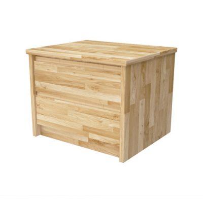 Noptiera lemn masiv LAURA