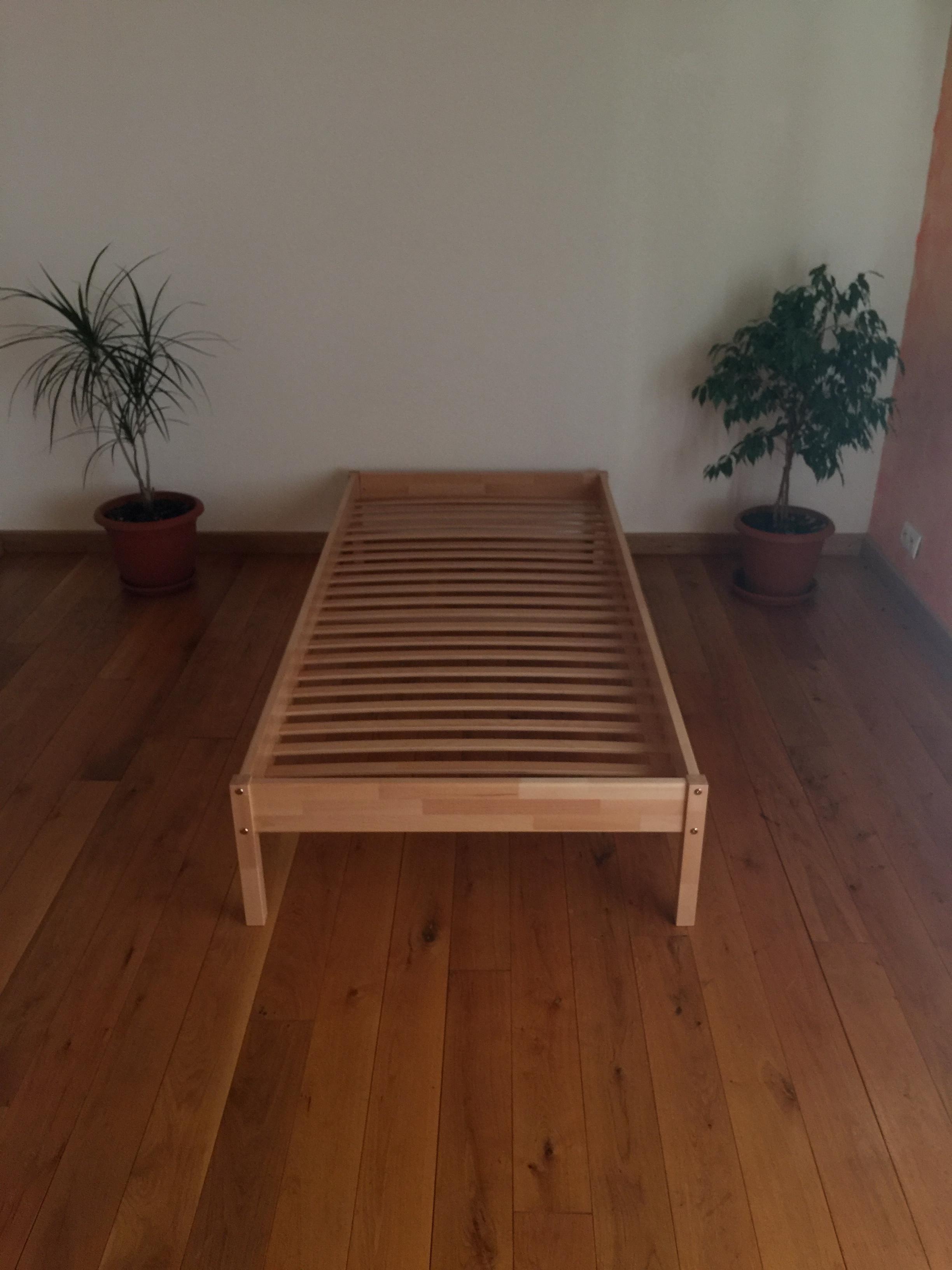 Pat lemn masiv fag Max 90×200