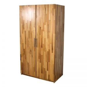 Dulap, 2 x usi, lemn masiv fag, natur