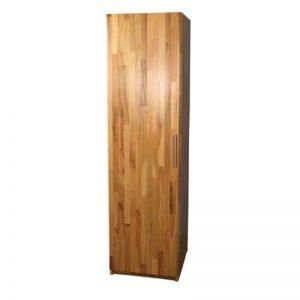 Dulap, 1 x usa, lemn masiv fag, natur